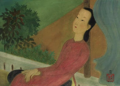 Women in Painting by Vietnamese Artist Mai Trung Thu
