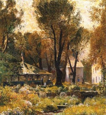 Painting by Daniel Garber American Artist