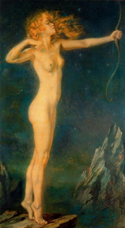 Nude Painting,George Owen Wynne Apperley,figurative oil painting, portrait painting