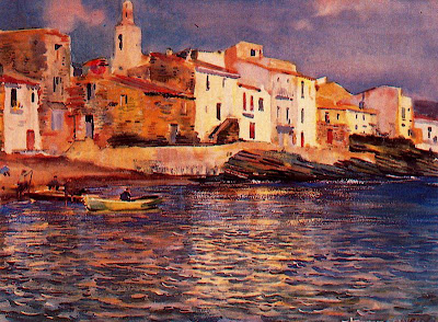 Landscapes by British artist George Owen Wynne Apperley
