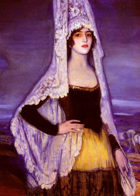 Art Deco Painting by Federico Beltrán Masses Spanish Artist