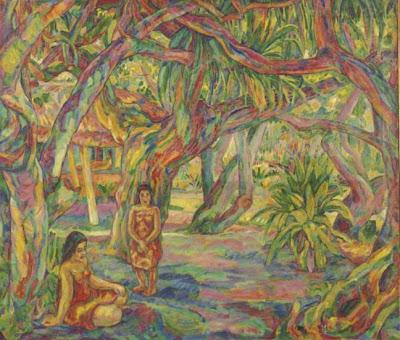Art of American Post-Impressionist Artist Jerome Blum