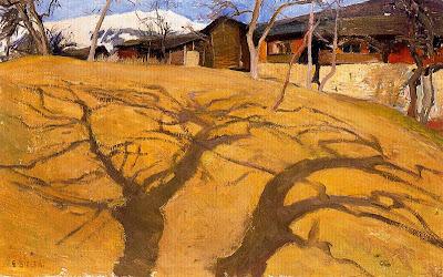 Landscape Painting by Swiss Artist Ernest Biéler