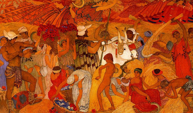 Paintings by Swiss Artist Ernest Bieler