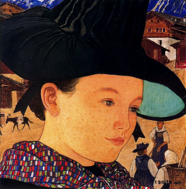 Art of  Swiss Painter  Ernest Bieler