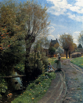 Landscape Paintings by Danish Artist Peder Monsted
