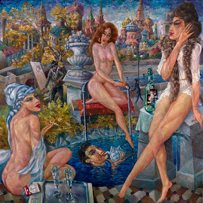 Contemporary Art of Russian Artist Vyacheslav Kalinin