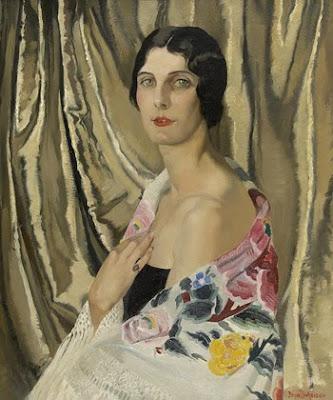 Portrait Painting by Doris Clare Zinkeisen
