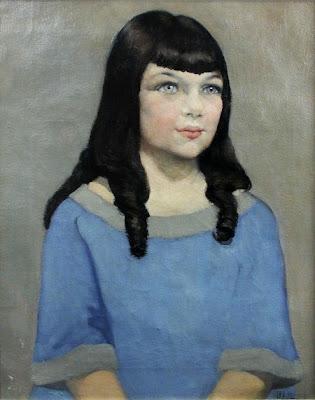 Painting by Scottish Artist Anna Katrina Zinkeisen