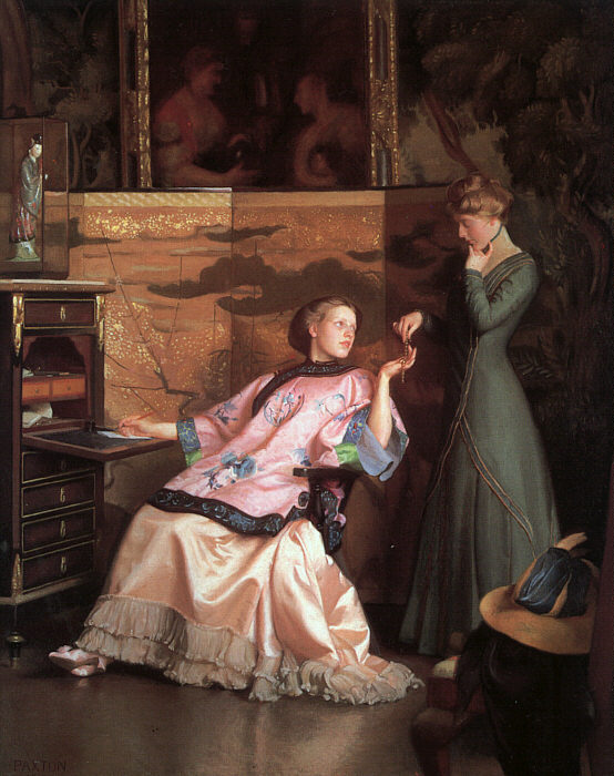 The Other Door Painting by William McGregor Paxton