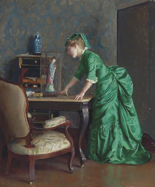 Painting by Impressionist Artist William McGregor Paxton