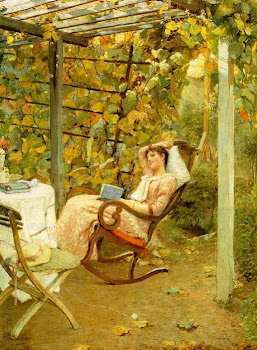 Ladies in the Garden in Painting