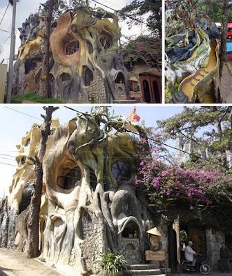 Къща, като от приказките Crazy-house-vietnam-gaudi