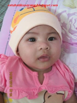 my first daughter-afrina Hayani