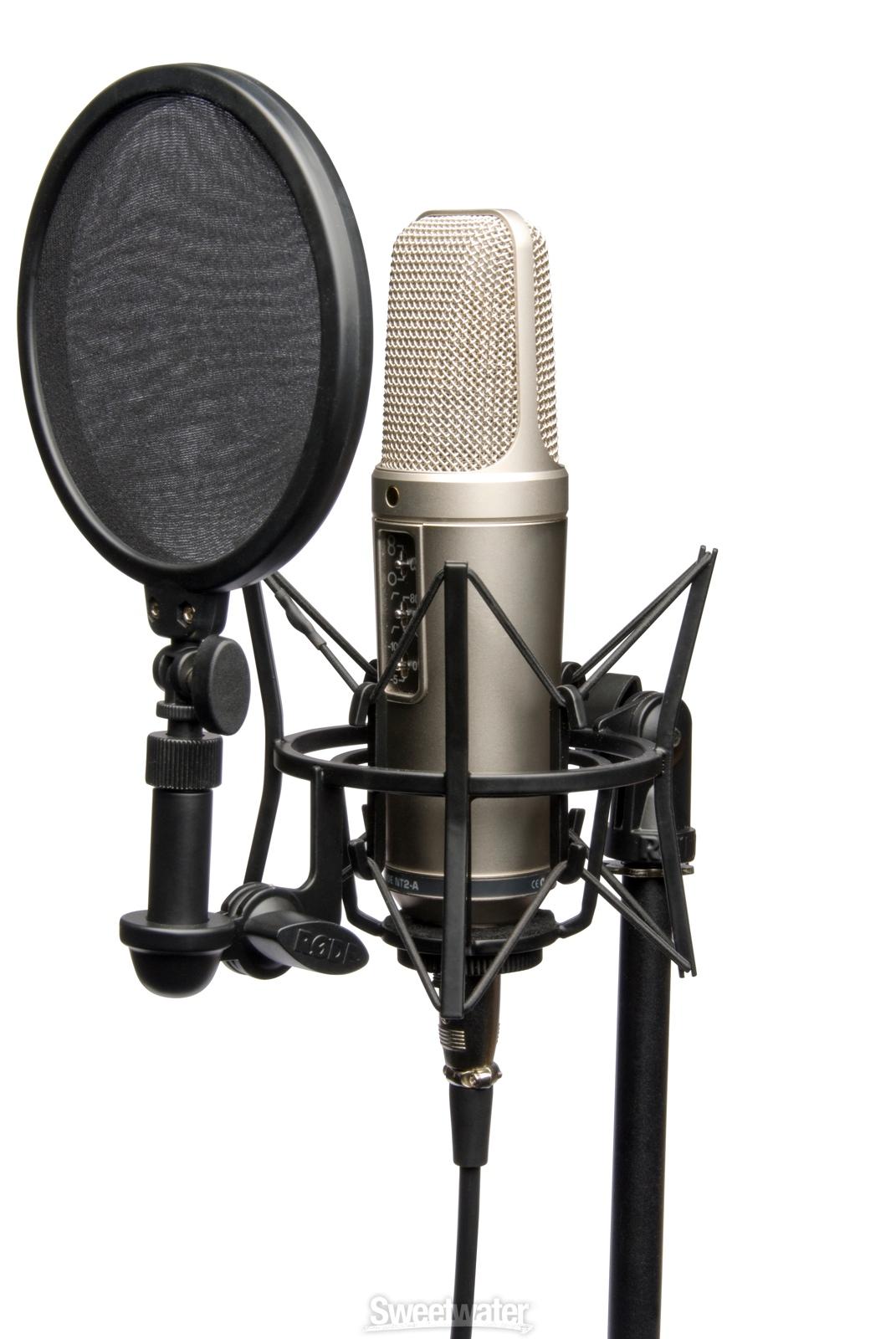Rode NT2-A Studio MicrophoneStudio Microphone Png