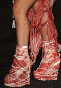 Shoes Gaga Wore of Meat