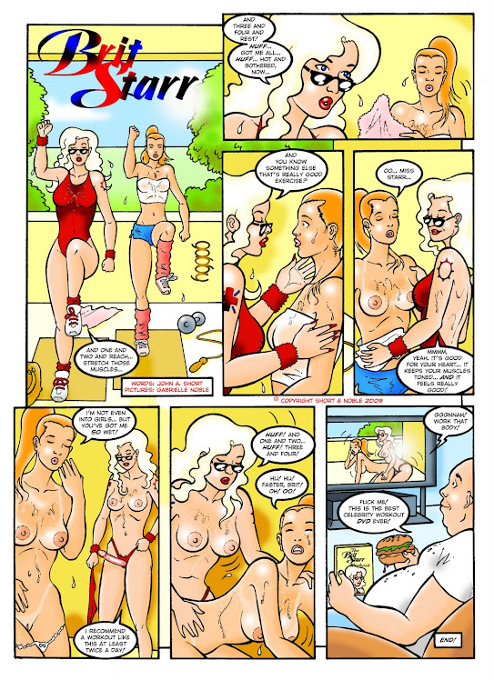 Brit Starr comics