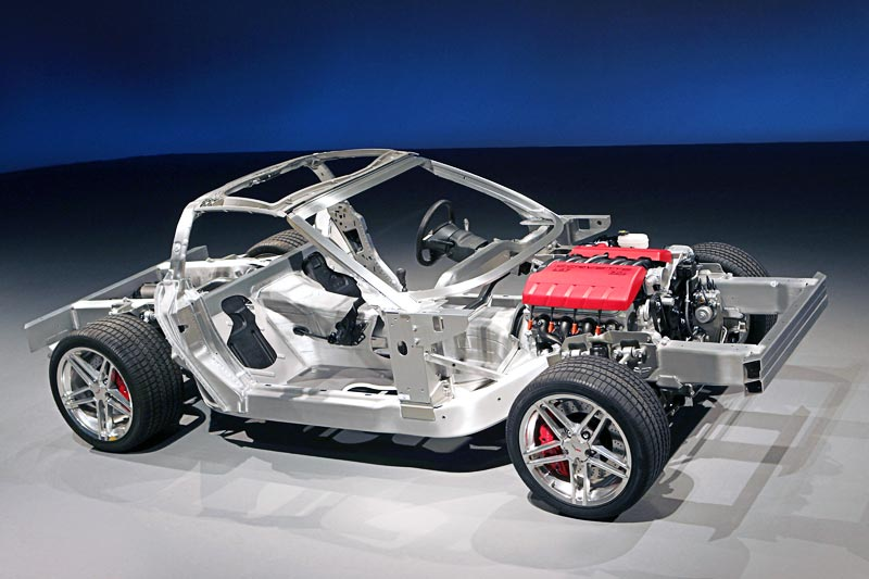 Chevrolet Corvette Body Structure Boron Extrication
