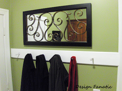 diy Design Fanatic: Laundry Room Mini Makeover- What a Difference ...