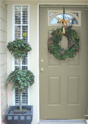 Front door our suburban cottage - Front door color ideas inspirations can use ...