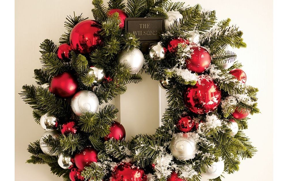 cheap easy christmas wreath sorry pottery barn our. Black Bedroom Furniture Sets. Home Design Ideas