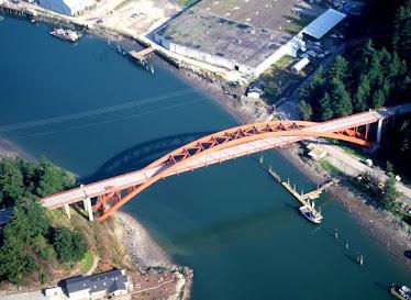 Rainbow Bridge at La Conner, Washington