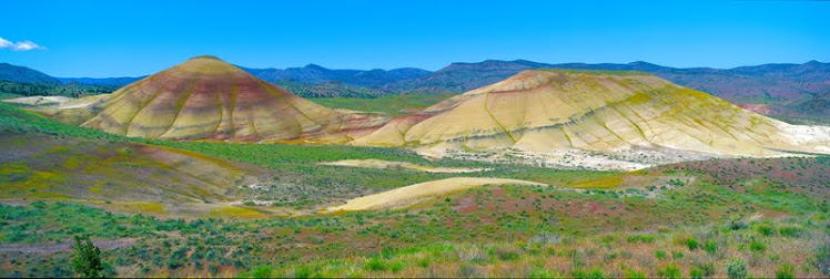 Painted Hills, pastels