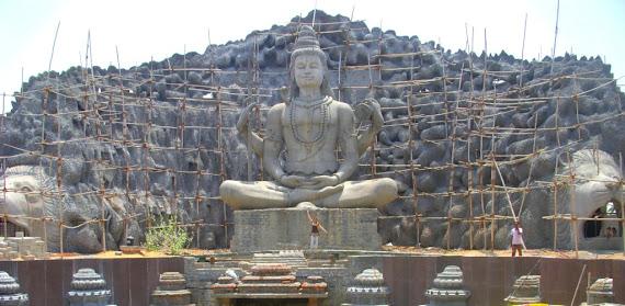 Shiva, uma das trindades do hinduísmo.