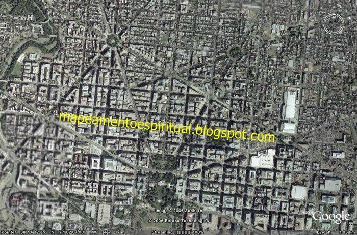 Washington imagem de satélite