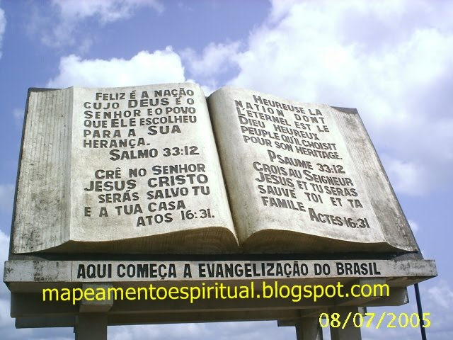 13 - O monumento na fronteira!