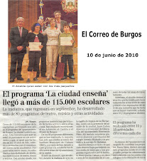 "Premio ""La ciudad también enseña 2010"""
