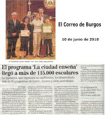 """Premio """"La ciudad también enseña 2010"""""""