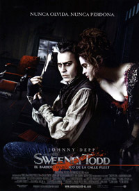 Sweeney Todd: El barbero diablico de la calle Fleet cine online gratis