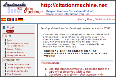 apa ciatation machine
