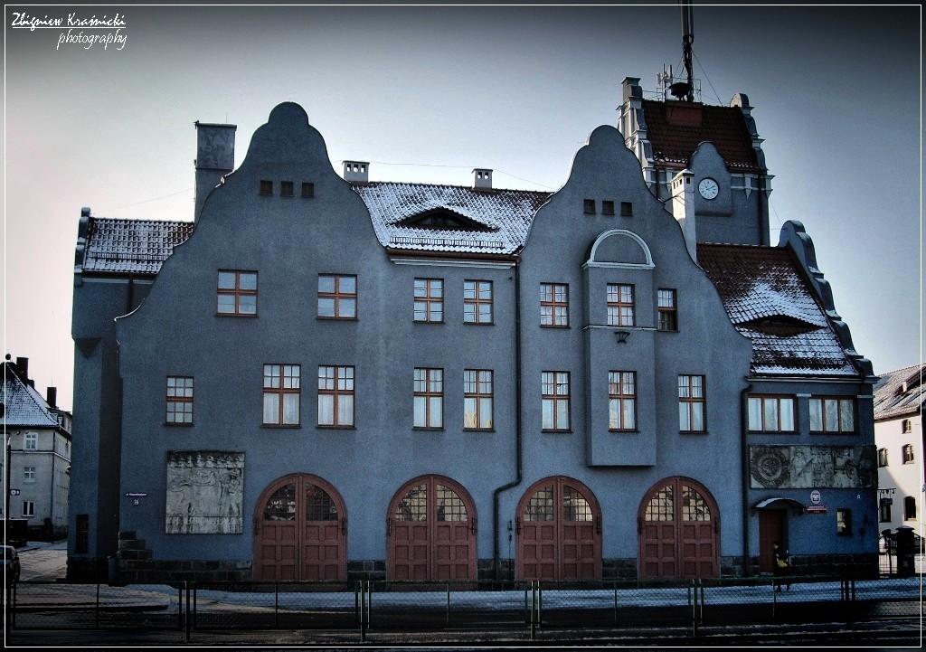 Remiza straży pożarnej w Olsztynie