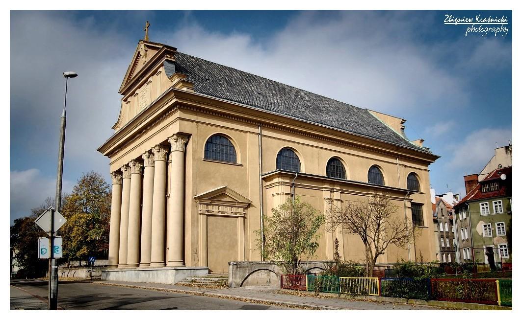 Olsztyn. Klasztor franciszkanów