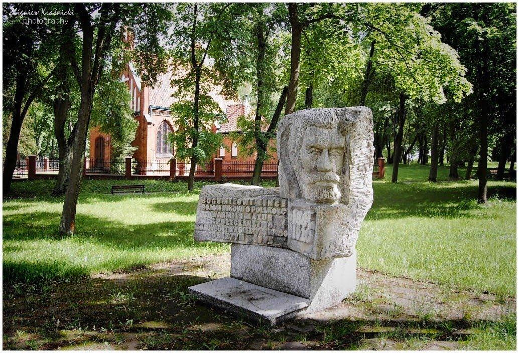 Olsztyn. Pomnik Bogumiła Linki