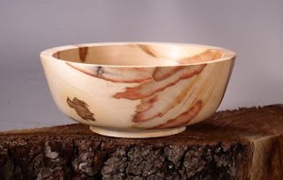 natural boxelder bowl