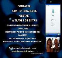 TERAPIA ON LINE Telefono o email