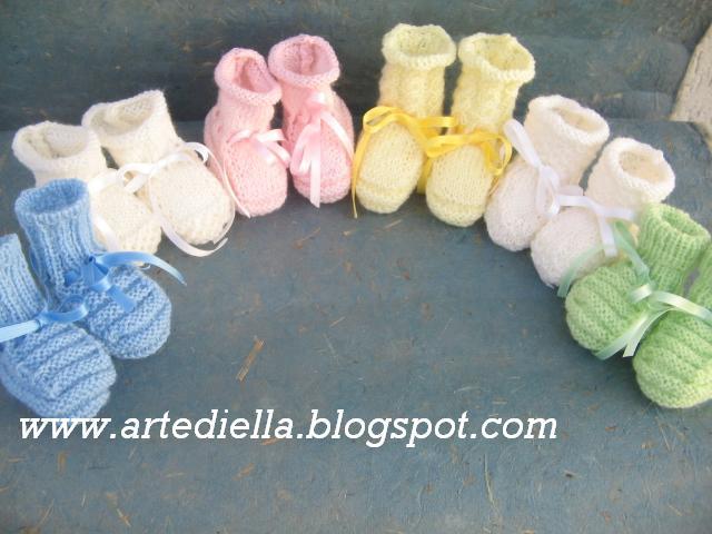 Scarpette per neonato