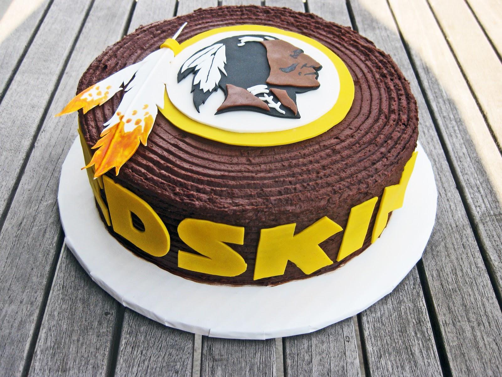 Redskins Cake Decorations