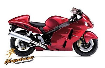 Motocicleta Suzuki Hayabusa GSX1300R