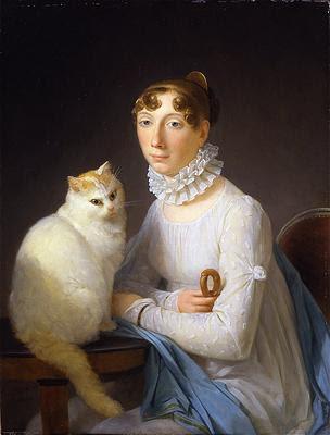 La+dame+avec+son+chat,+Marguerite+G%C3%A9rard dans EXPOSITIONS