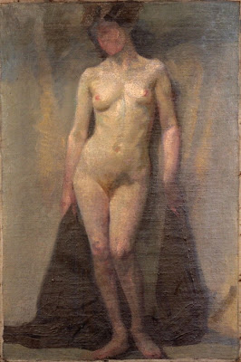 Standing Female Nude,