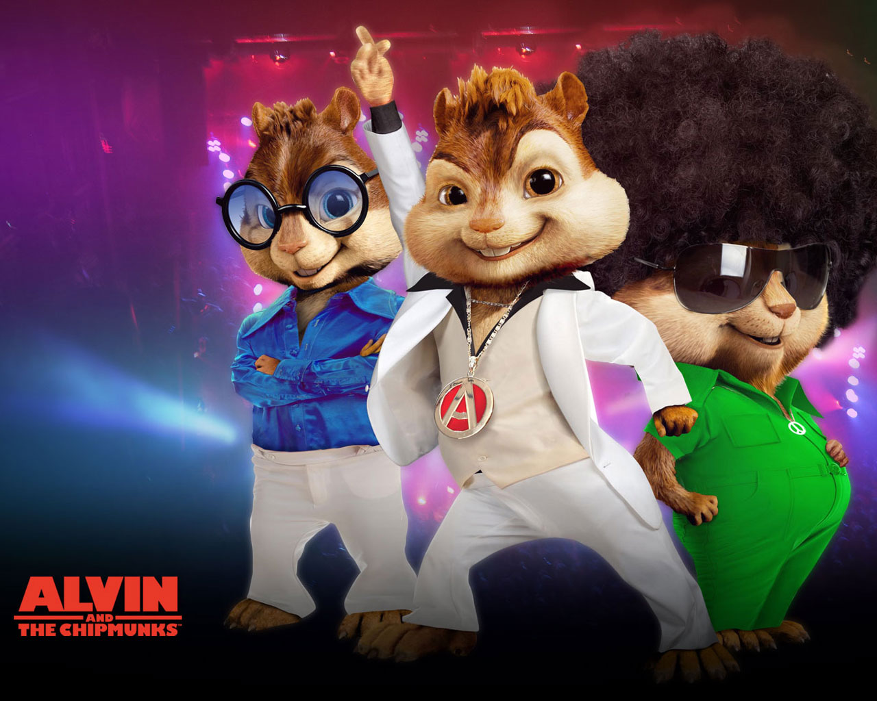 Alvin and the Chipmunks Cartoon Image