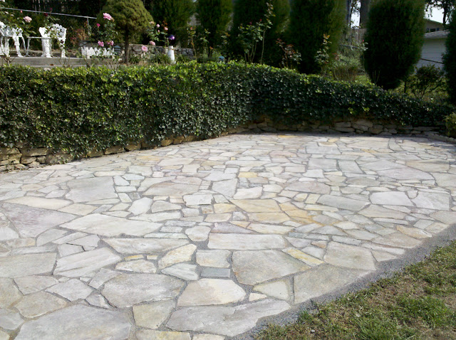 Life Time Pavers Irregular Flagstone w Gatordust