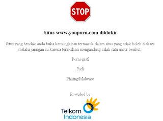 daftar situs pono yang diblokir