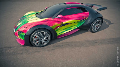 citroën survolt Art Car