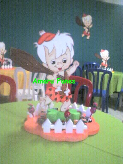 Decoraciónes de fiestas infantiles de bam bam - Imagui