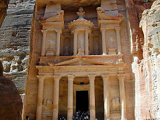 Petra (9 B.C. - 40 A.D.), Jordan - new seven wonders of the world